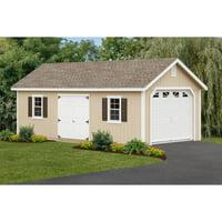 Yardcraft Products LLC Fairmont Garage with Optional Floor