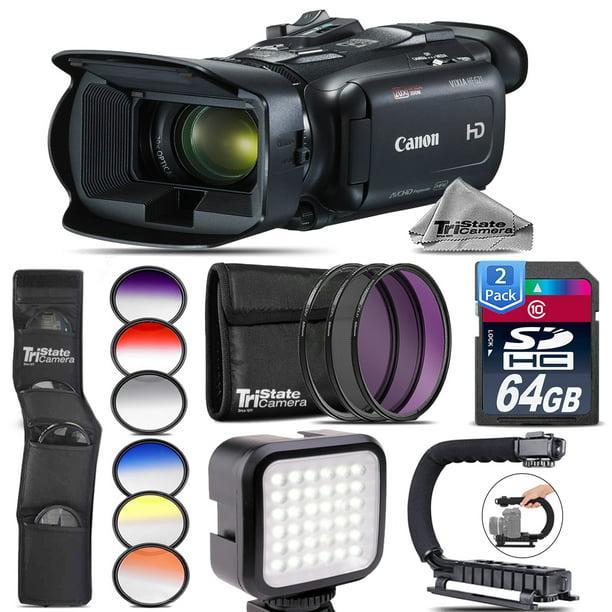 Canon VIXIA HF G21 + LED + Telephoto & Wide Angle Lens
