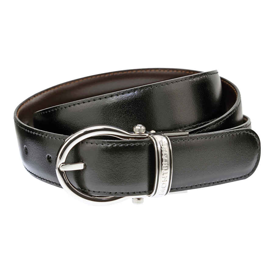 Montblanc Casual Oval Reversible Leather Belt