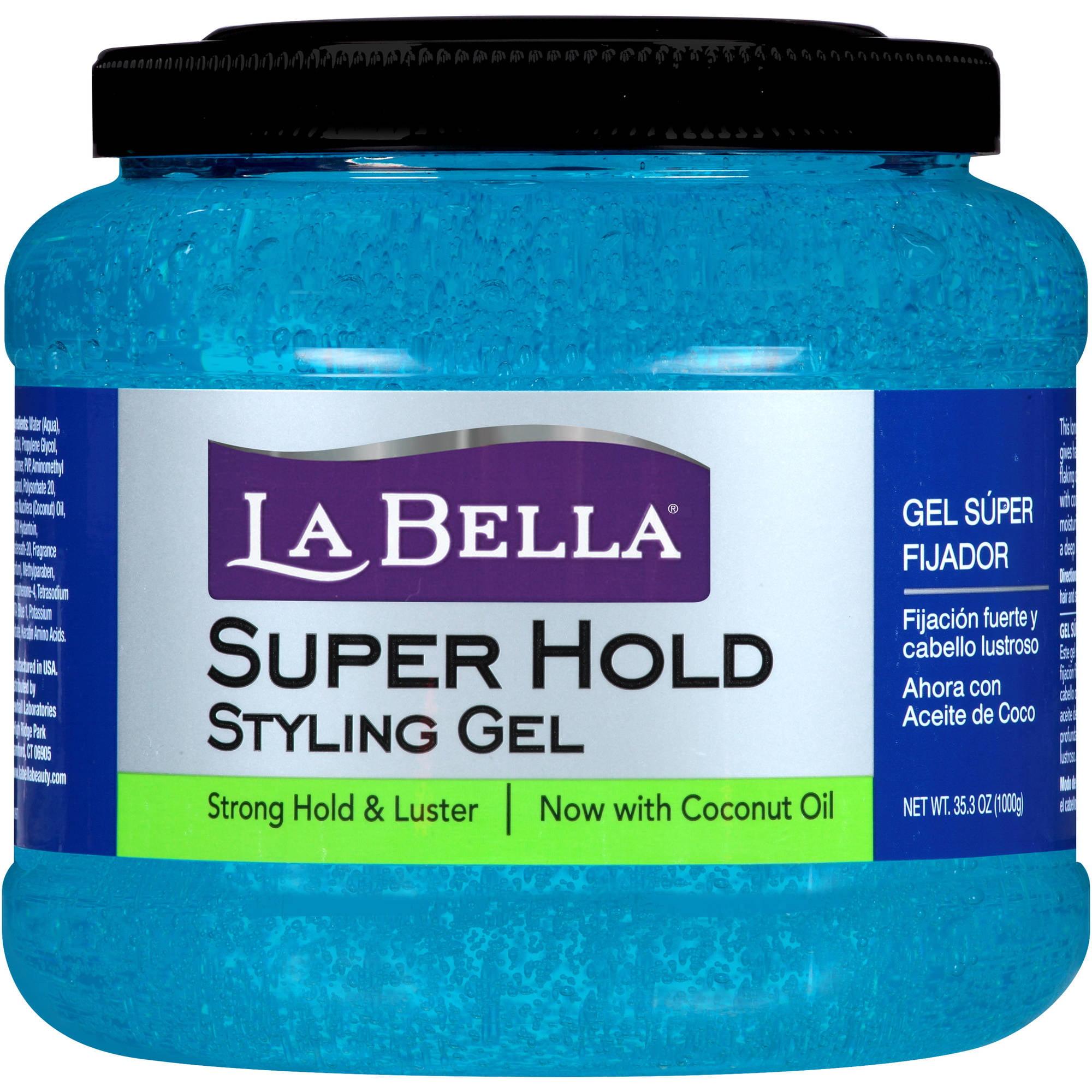 La Bella Super Hold Styling Gel, 35.3 oz