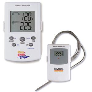 Maverick Redi-Chek ET-73 Remote Smoker Thermometer - Celsius, Fahrenheit Reading - Backlit Digital Display - For Grill, Oven