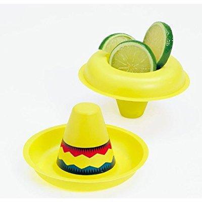 plastic mini sombreros (1 dz) - Mini Sombreros