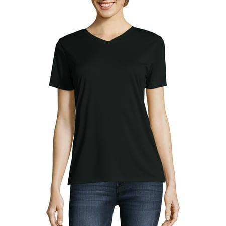 12e8c786dd1c8b Hanes - Sport Women's Cool DRI Performance V-neck T-Shirt (50+ UPF) -  Walmart.com