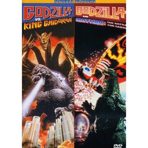 Godzilla Vs. King Ghidorah / Godzilla And Mothra: The Battle For Earth (Full Frame)