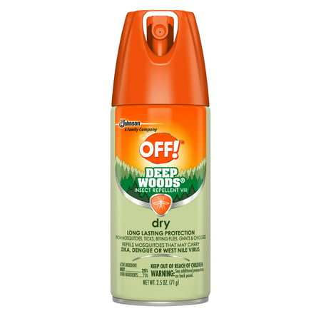 OFF! Deep Woods Insect Repellent VIII Dry, 2.5 oz, 1 ct