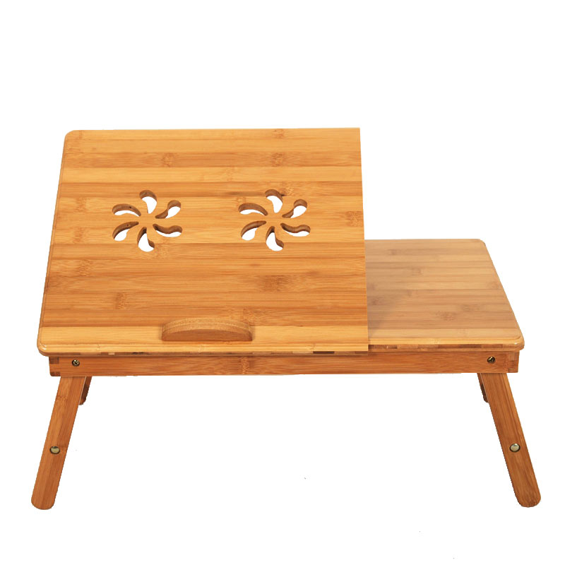 Superior Ktaxon Portable Bamboo Laptop Desk Table Folding Breakfast Bed Serving Tray  W/ Drawer