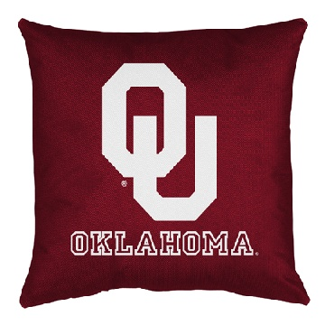 Sports Coverage Inc. NCAA Oklahoma Throw Pillow