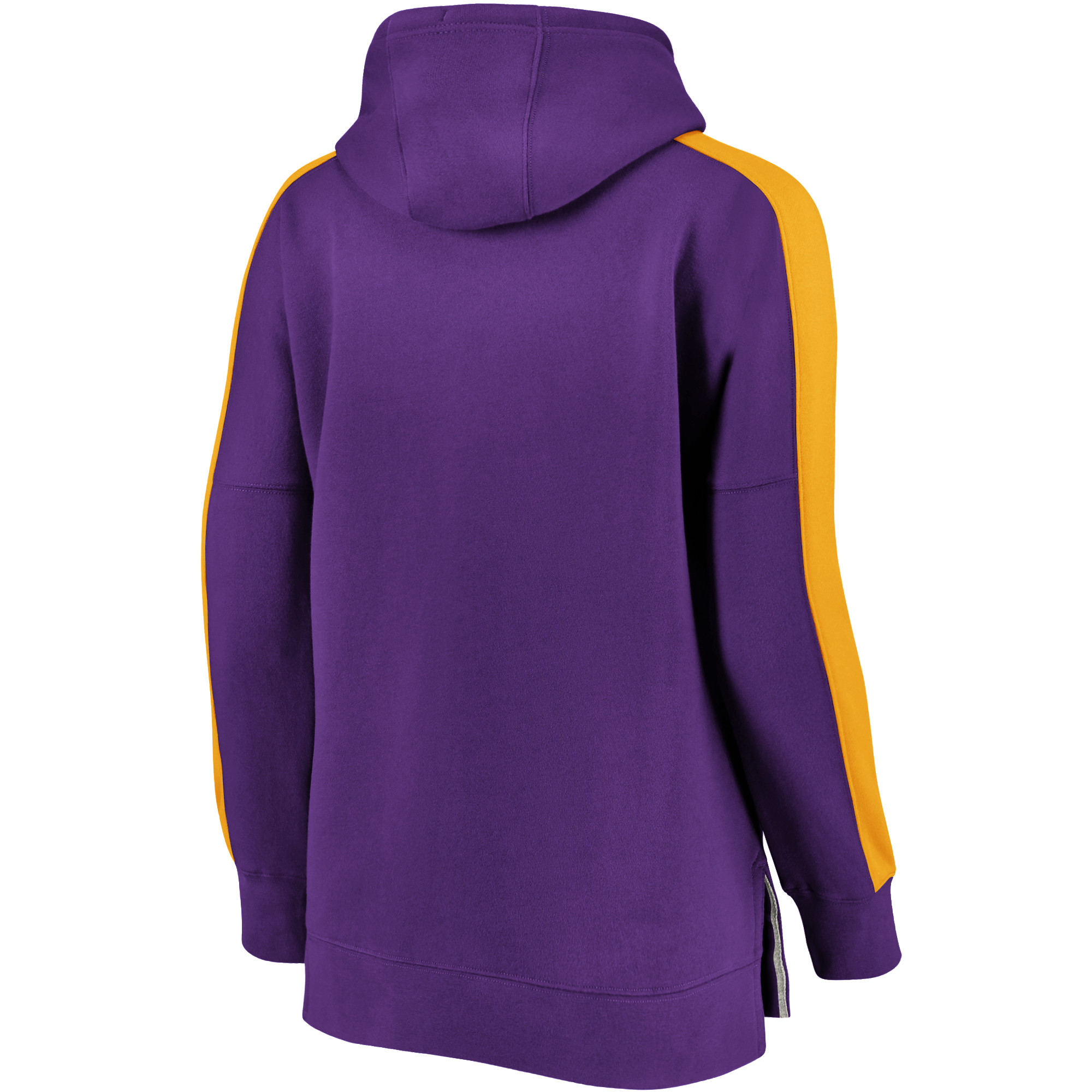 first rate d25b6 70e63 Minnesota Vikings NFL Pro Line by Fanatics Branded Women's Plus Size Color  Block Pullover Hoodie - Purple/Gold