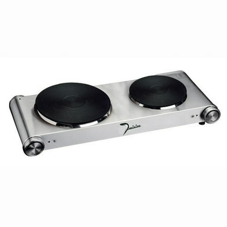 B C Classics Stainless Steel Portable Double (Square Flat Stainless Steel Burner)