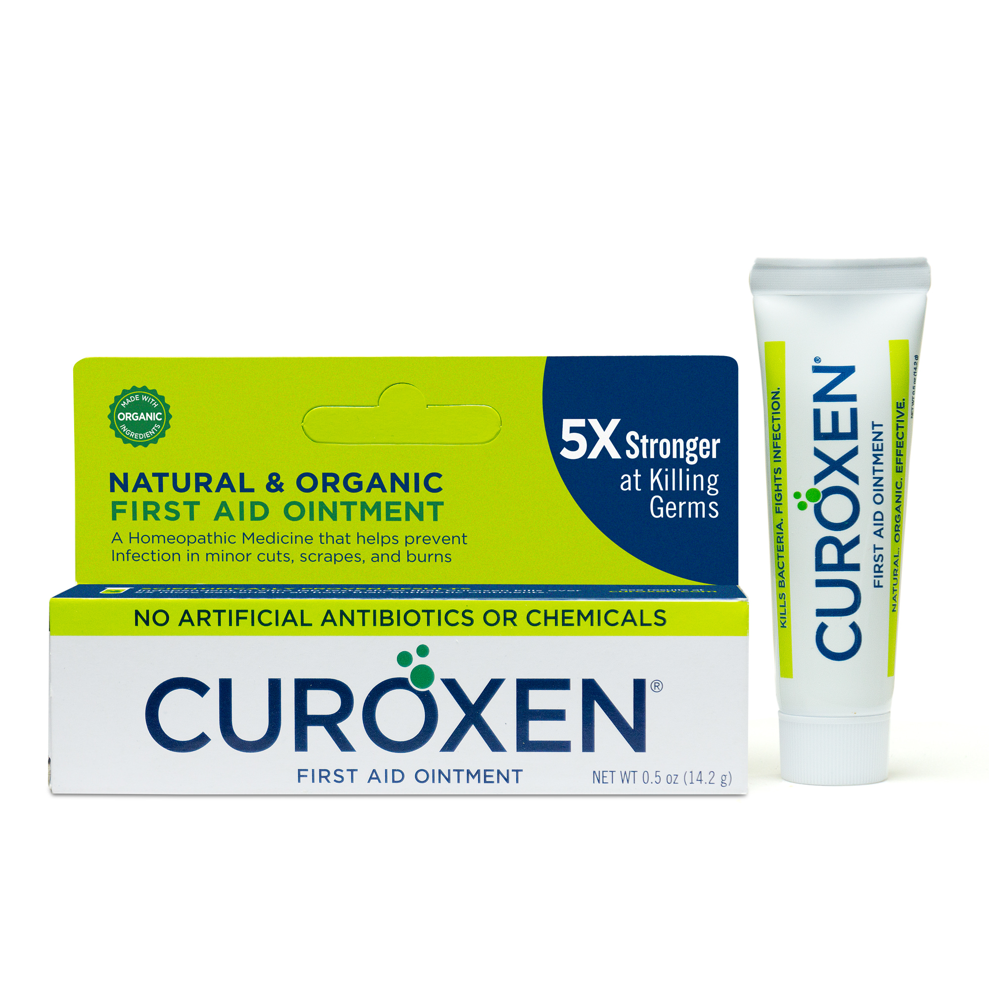 CUROXEN Natural & Organic First Aid Ointment 0.5 oz