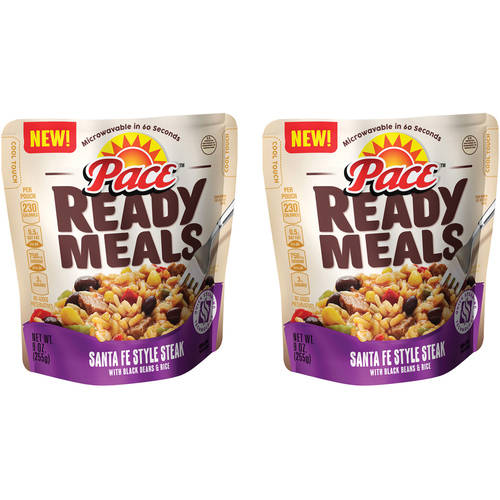 Pace Ready Meals Santa Fe Style Steak, 9 oz (Pack of 2)