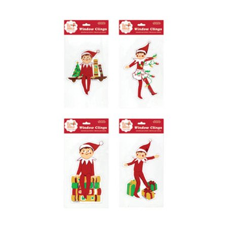 575 The Elf On Shelf Jelz Christmas Window Cling