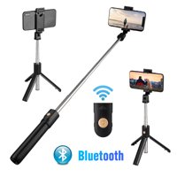 Selfie Stick Tripod with Bluetooth Remote, EEEKit Extendable Selfie Stick Tripod Cell Phone Holder with Wireless Shutter Compatible with iPhone 11/11 Pro/X/XS Max/8, Samsung Galaxy S10/S10+, S9/S9+