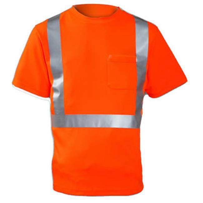 Tingley Rubber S75029.MD Class II Short Sleeve Shirt, Medium, Orange - image 1 of 1