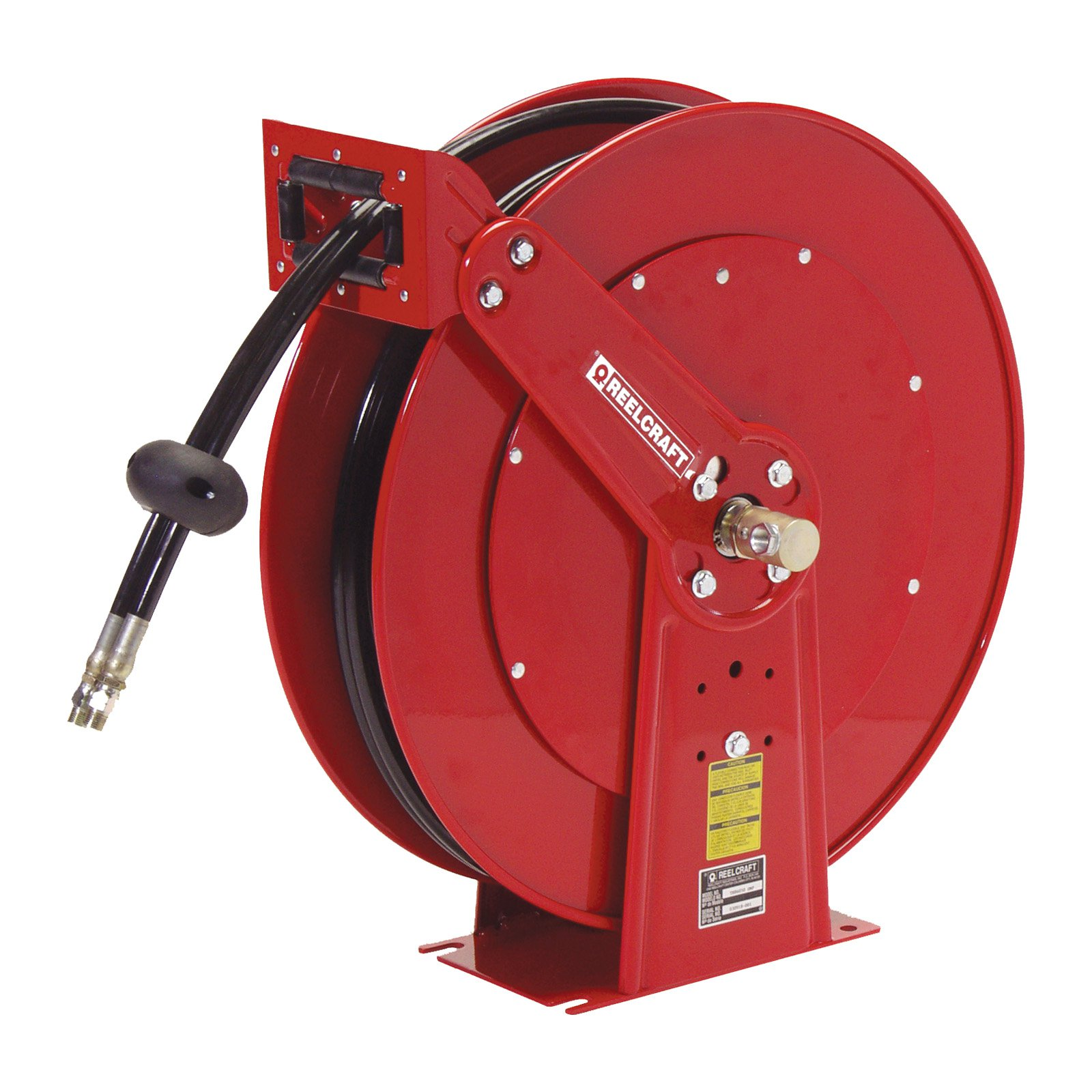 Reelcraft Twin Line Hydraulic 1 2 in. Hose Reel 50 ft. by Reelcraft