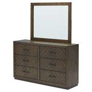 Belham Living Highlands Ranch 6 Drawer Dresser with Optional Mirror