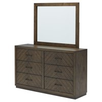 Belham Living Highlands Ranch 6 Drawer Dresser with Optional Mirror