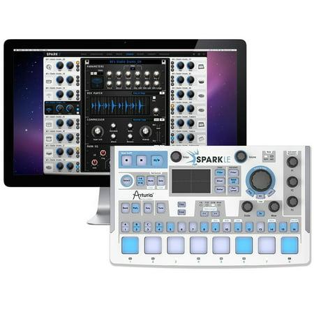 Arturia SparkLE Hybrid Hardware Controller and Software Drum (Drum Machine Software)
