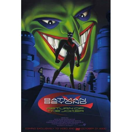 Toddler Joker Costume (Batman Beyond - Return of the Joker POSTER (11x17))