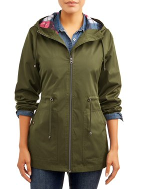 Time and Tru Women's Lightweight Anorak Jacket