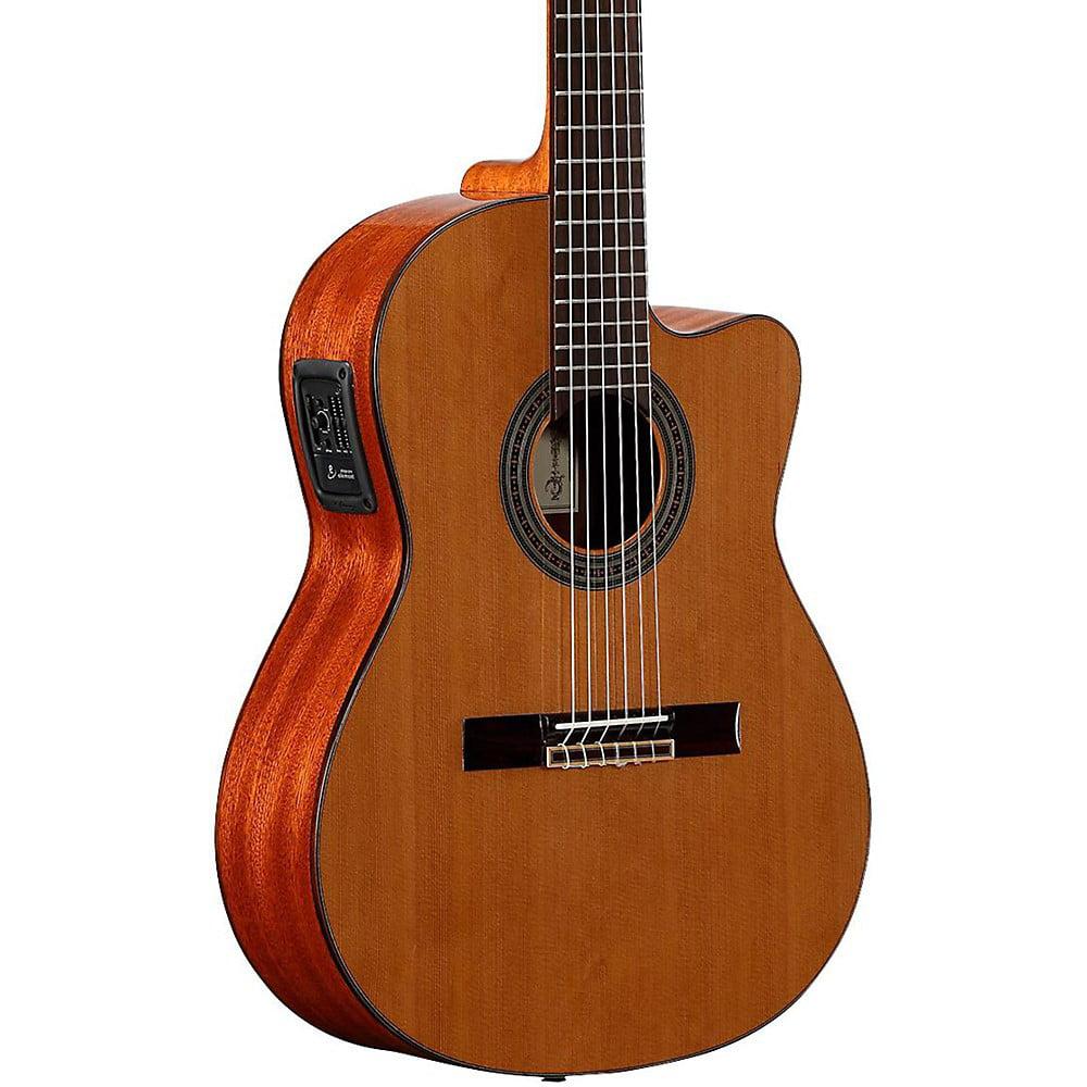Alvarez Artist Series AC65HCE Classical Hybrid Acoustic-Electric Guitar Natural by Alvarez