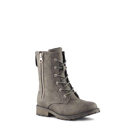 Cougar Girls' Nera Zip Up Boot in Ash, 3 US - image 3 de 5