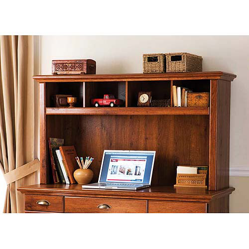 Better Homes And Gardens Desk Hutch, Oak