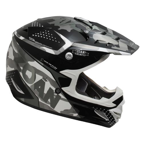 ZOAN 021-529 MX-1 O/f Helmet - Sniper, Silver - 3xl