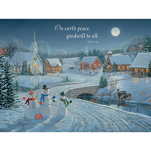 "Lang ""A December Night"" Boxed Christmas Cards"