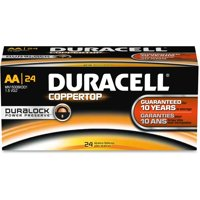 Duracell Aa Coppertop Batteries - Aa - 24 / Pack (dur-01501)