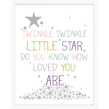 Finny And Zook Twinkle Twinkle Little Star Paper Print