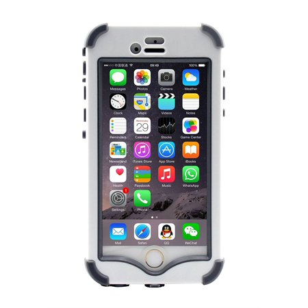 LifeBox iPhone 6/6s Rugged Protection Case - Waterproof Dustproof Shockproof Snowproof Crash Proof - Retail Packaging - Apple iPhone 6 4.7