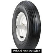 Carlisle Wheelbarrow Wheelbarrow Tire - 4.00-6 LRA/2ply