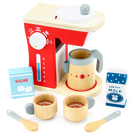 Imagination Generation Good Mornings Coffee Maker Breakfast Playset | Food Toys Pretend Play (Food Network Coffee Maker)