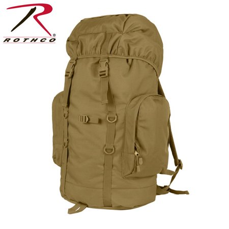 (Price/EA)Rothco 2847 45L Tactical Backpack-Coyote Brown thumbnail