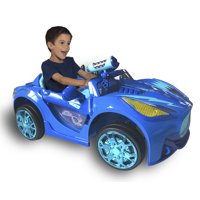 6 Volt PJ Masks Super Car By Dynacraft with Working Water Cannon