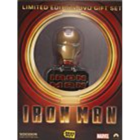 Iron Man (DVD) (Widesceen) (2-Disc Edition) (Limited Issue Gift Set w/Collectable Iron Man Mini-Bust + $50 Gift Card for Sideshow Collectables) - Sideshow Iron