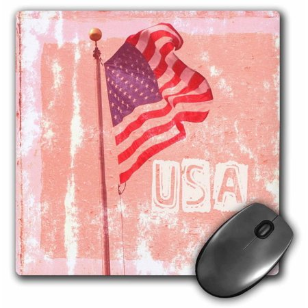 Americana Computer - 3dRose American Flag USA Art Patriotic Americana Photography - Mouse Pad, 8 by 8-inch