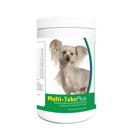 Healthy Breeds 840235122579 Chinese Crested Multi Tabs Plus Chewable T