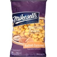 Mikesell's Puffcorn Delites Oven Baked Salted Caramel Flavored Popcorn, 5.5 Oz.