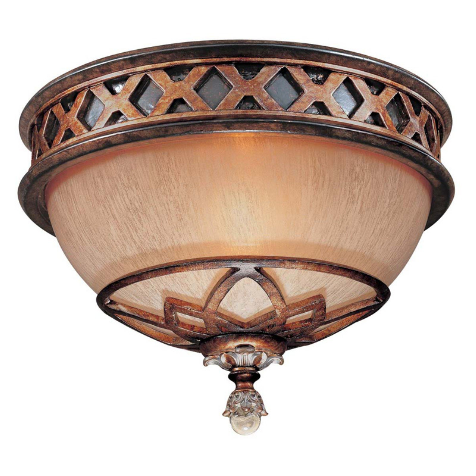 Minka Lavery Aston Court Flush Mount - Aston Court Bronze