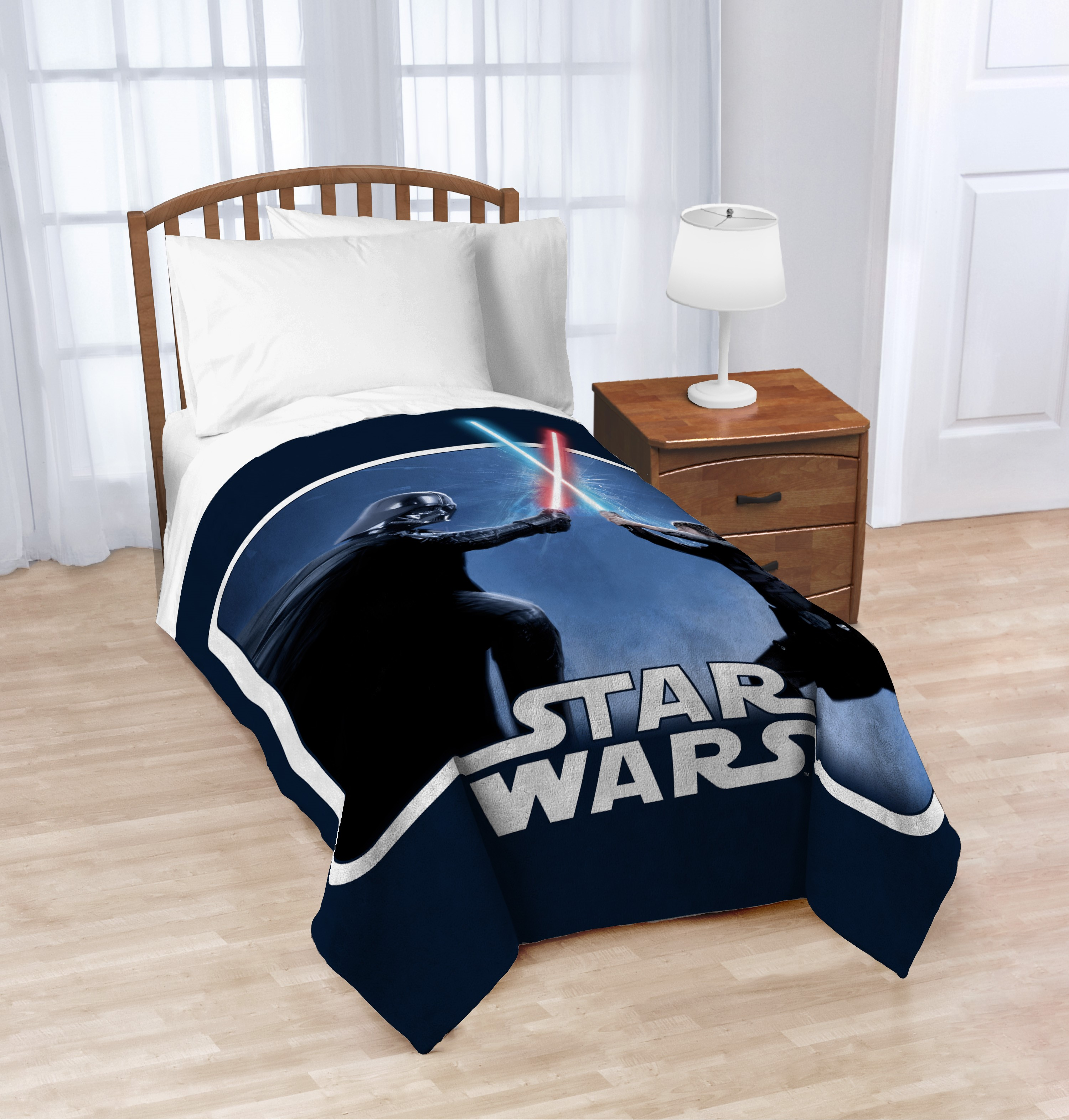 "Star Wars™ Classic 62"" x 90"" Plush Blanket, Kid's Bedding"