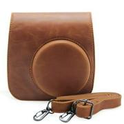 Minisuit for Fujifilm Instax Mini 8 - Case with Strap (Brown)