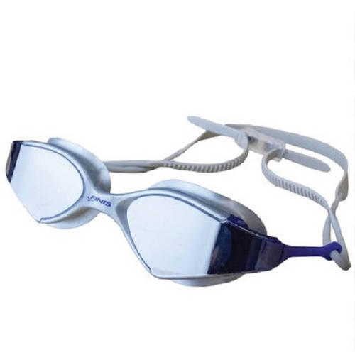 Goggles, Voltage, Silver/Blue Mirror