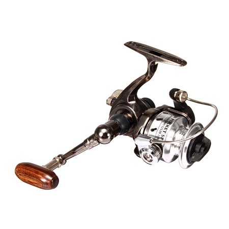 Moaere Mini Fishing Reel Metal Coil Ultra Small Spinning Reel 4.3:1 Ice Pen (Best Small Fishing Reel)