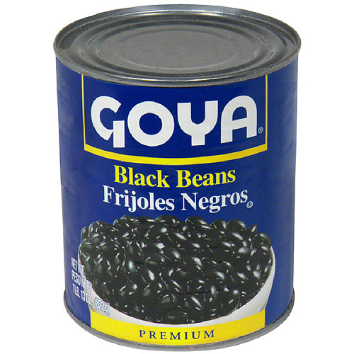 Goya Black Beans, 29 oz (Pack of 12) by Generic