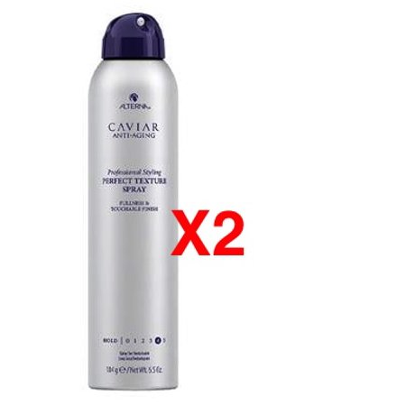 Alterna Caviar Anti-Aging Professional Styling Perfect Texture Spray Fullness & Touchable Finish 6.5oz / 184g (pack of 2)