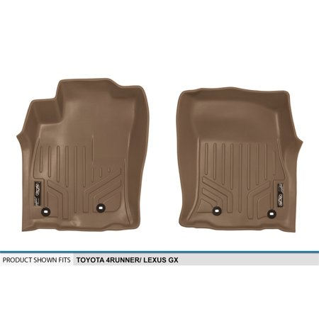 Maxliner 2013-2019 Toyota 4Runner 2014-2019 Lexus GX460 Floor Mats 1st Row Set Tan A1120 2007 Tan 1st Row