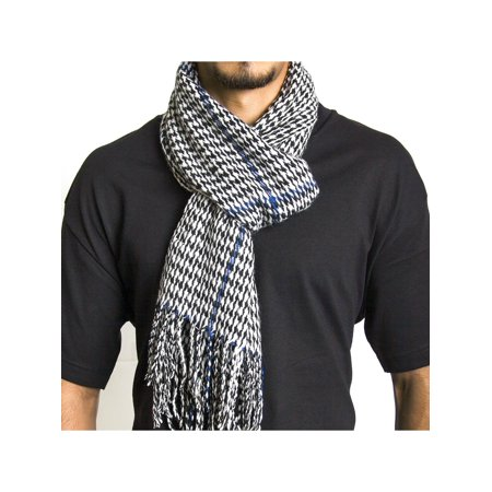 Alpine Swiss Mens Scarf Softer Than Cashmere Scarves Plaids Womens Winter Shawl (Fashion Scarf Men)