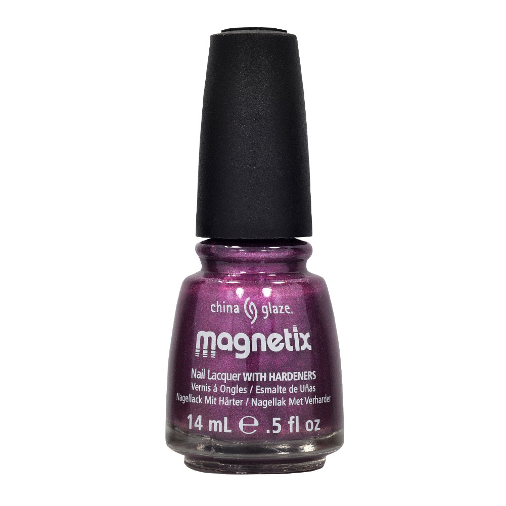 China Glaze 0.5oz Nail Polish Lacquer Clay Purple,  DRAWN TO YOU, 80604